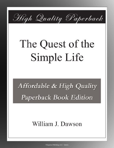The Quest of the Simple Life (Life Quest Book compare prices)