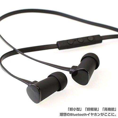 ANTS イヤホンマイク Bluetooth 4.0 ワイヤレス イヤホン イヤフォン / ブラック