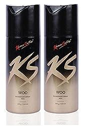 Kamasutra Woo Deodorant Spray - Men (Pack of 2)