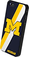 Buy Forever Collectibles NCAA Michigan Wolverines Team Logo Hard Apple iPhone 5 5S Case by Forever Collectibles