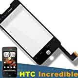 Original HTC Verizon Droid Incredible Adr6300 OEM Touch Screen Digitizer With Lens Cover