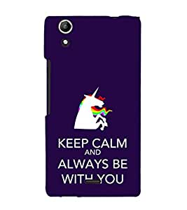 EPICCASE keep calm Mobile Back Case Cover For Micromax Selfie 2 Q340 (Designer Case)