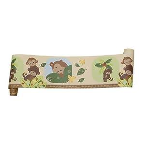 Bedtime Originals Curly Tails Wallpaper Border, Home Improvement Tool from Bedtime Originals