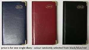 2015 slim one week to view diary with metal corner