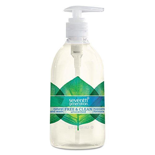 Seventh Generation Hand Wash, Free and Clear, 12 Ounce (Amazon Pantry Service compare prices)