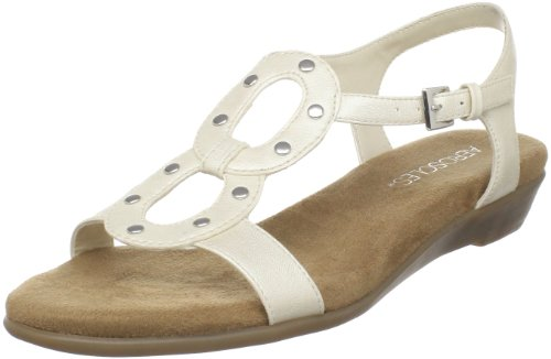 Aerosoles Women's Atomic Sandal,White Pearl,9 M US