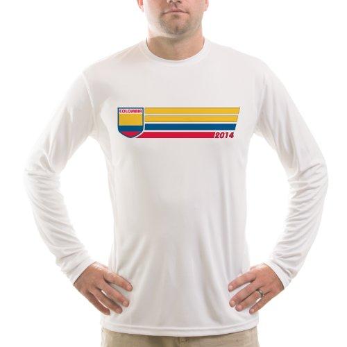 Split Time Womens Run Denver UPF Long Sleeve Running T-Shirt XX-Large White