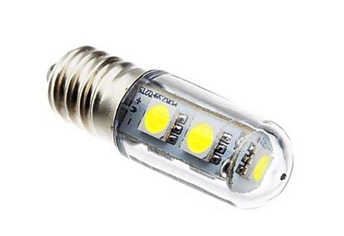 Factop Led Refrigerator Bulb E14 1W 7X5050 Smd 60-80Lm 6000-6500K 110V Light Color Natural White