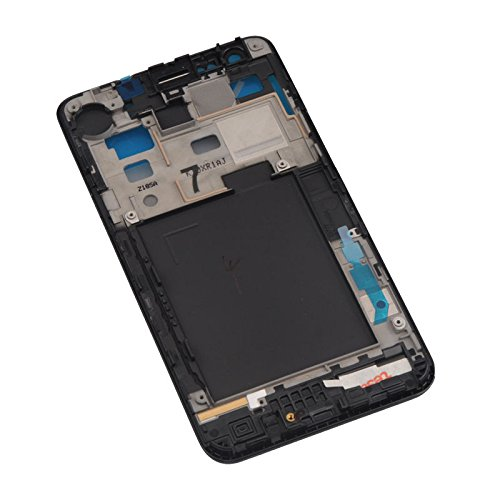 New White/Black Front Lcd Mid Frame Bezel Housing Replacement Part For Samsung Galaxy S2 Ii Gt-I9100 I9105 D710/Sprint I777/At&T T989/T-Mobile, Epacket Shipping (I9100 Black)