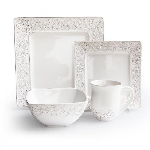 Waverly Belinda Square 16-Piece Dinnerware Set