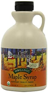 Coombs Family Farms 100% Pure Organic Maple Syrup, Grade B, 32-Ounce