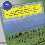 メンデルスゾーン:交響曲第3番《スコットランド》&4番《イタリア》ジャケット画像