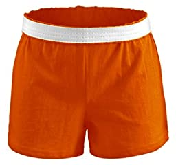 Soffe Juniors Athletic Shorts The Original Short, Orange, XSmall