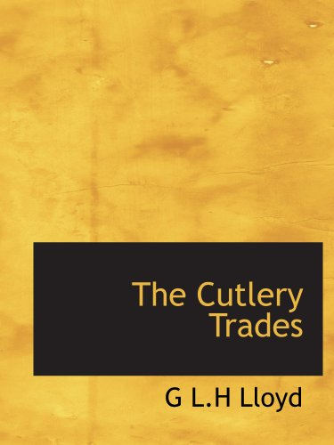 The Cutlery Trades PDF