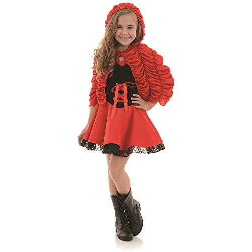 Little Red Kids Costume