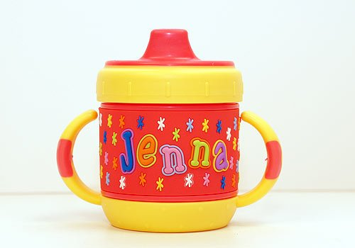 Personalized Sippy Cup: Jenna front-16956