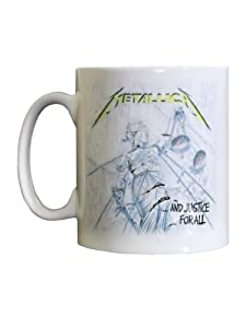 Tasse Metallica : And Justice For All Sous Licence Officielle