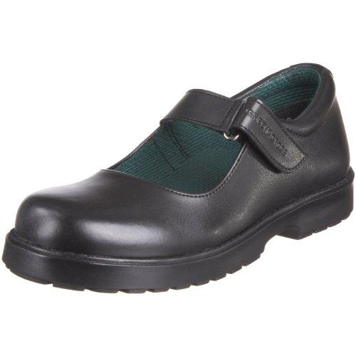 Green Cross Junior Sandy School Shoe Black 4720 1 UK
