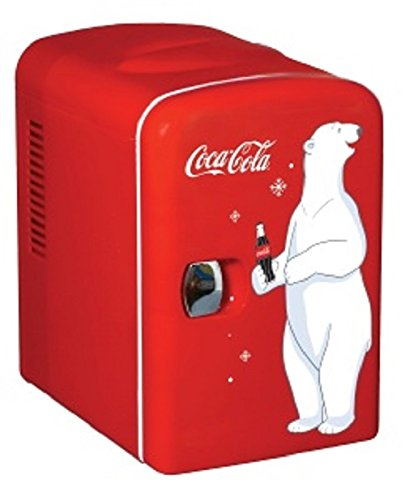 Koolatron KWC-4 Coca-Cola Personal 6-Can Mini Fridge (Mini Fridge 4 Liter compare prices)
