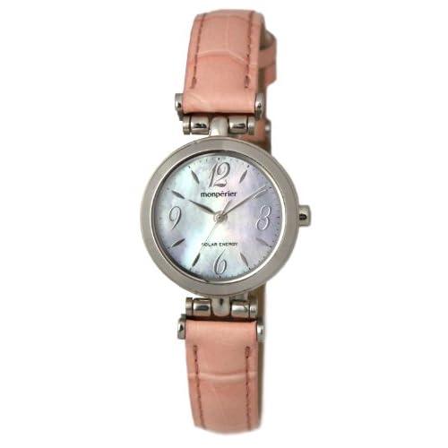 [リコー]RICOH 腕時計 monperier emit(モンペリエ・エミット) ソーラーエネルギーウォッチ アナログ表示 シェル文字板 699001-11 レディース