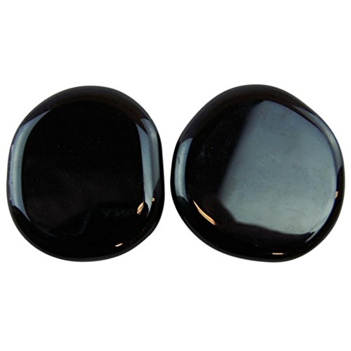 2 Piece Obsidian Palm Glass By Joyoung: 21-24 Grams/Each