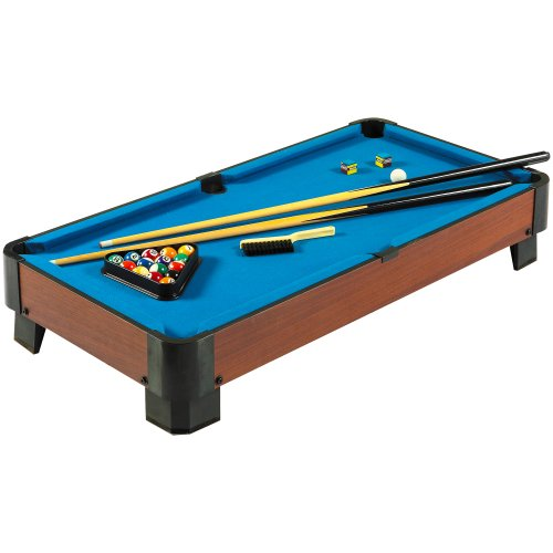 Best Price! Hathaway Sharp Shooter Pool Table, Blue, 40-Inch