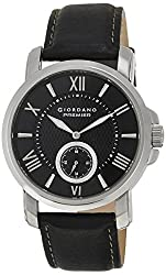 Giordano Analog Black Dial Mens Watch - P120-01