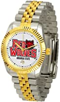 Arkansas State Red Wolves ASU NCAA Mens Steel Executive Watch