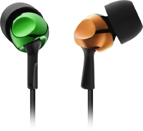 Tdk Lor Ear Canal Headphones Clef-R Series Yellow Green And Orange Th-Rec200Ygor (Japan Import)
