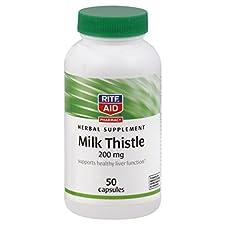 Rite Aid Milk Thistle, 200 mg, Capsules, 50 capsules