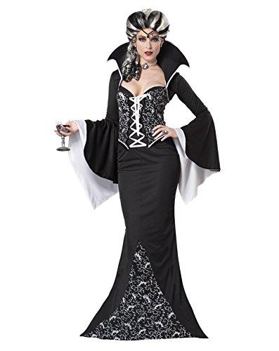 Royal Vampiress, Black/White, Costume