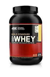 Optimum Nutrition Gold Standard 100% Whey French Vanilla Crème Protein Powder 908g