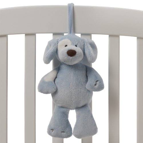"Gund Baby 11"" Soothing Sounds Spunky Plush Toy, Blue (Discontinued by Manufacturer)"