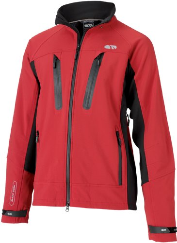Madison Tempest Mens Waterproof Jacket, Red Small