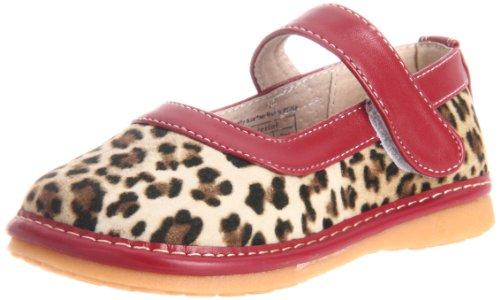 Hide & Squeak Leopard Mary Jane (Infant/Toddler),Brown/Black,7 M Us Toddler front-829585