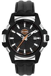 Harley-Davidson Men's Bulova Wrist Watch. 78B123