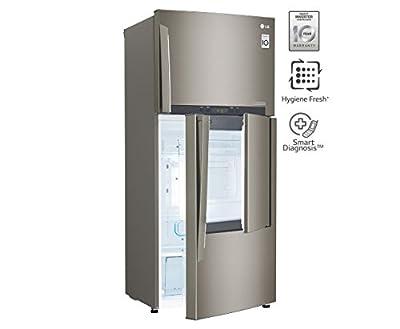 LG FROST FREE FRIDGE 426 LTRS GCD 432 HLAM DOOR IN DOOR BST