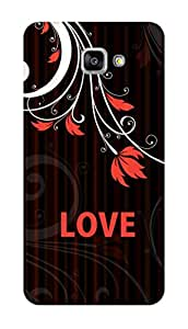 SWAG my CASE PRINTED BACK COVER FOR SAMSUNG GALAXY A9 PRO (2016) Multicolor