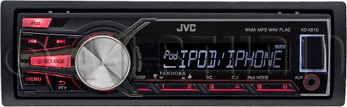Jvc Kdx210 Brand New Mobile Digital Media, Am/Fm