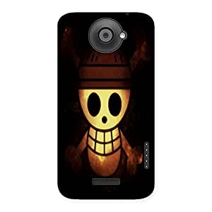 Unicovers Cute Ghost Back Case Cover for HTC One X