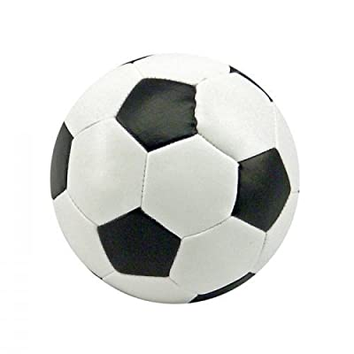 Soft Football, 8 cms, in black and white, sold singly