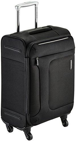 [サムソナイト] SAMSONITE ASPHERE / アスフィア スピナー55 (55cm/39L/2.4Kg) (スーツケース・ソフトケース・トラベル・機内持込サイズ・軽量・大容量・エキスパンダブル・TSAロック装備・保証付) 72R*09001 09 (ブラック)