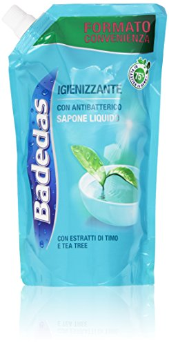 Badedas - Igienizzante, Sapone Liquido con Antibatterico, Estratti di Timo e Tea Tree - 500 ml