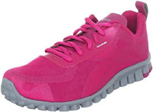 REEBOK RealFlex Scream Running Shoes Condensed Pink/Flat Grey (9.5 B(M) US Womens) from REEBOK