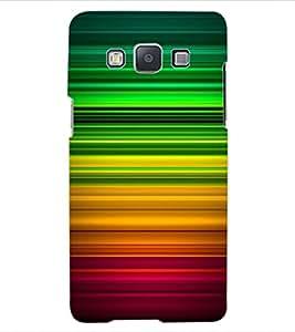 ColourCraft Colourful Bars Design Back Case Cover for SAMSUNG GALAXY A5 A500F