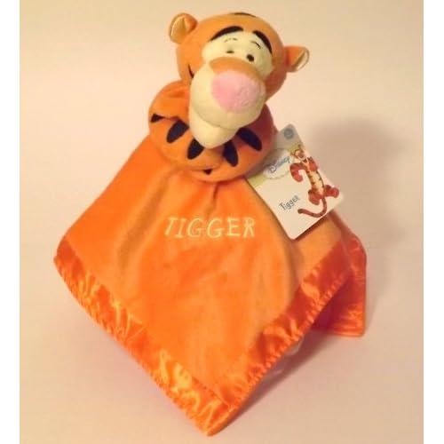 "Tigger ""Baby Rattle Plush Security Blanket"" : Nursery Blankets : Baby"