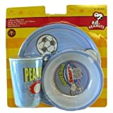 Peanuts Snoopy Dinnerware Set - 3 Pcs Kids Dinnerware