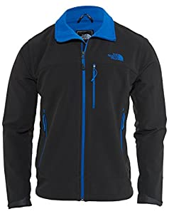 The North Face Men's Apex Bionic Jacket TNF Black/Monster Blue Size XX-Large from The North Face Inc