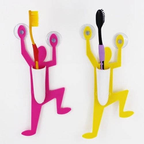 1Pcs Little Superman Toothbrush Holder Random Color