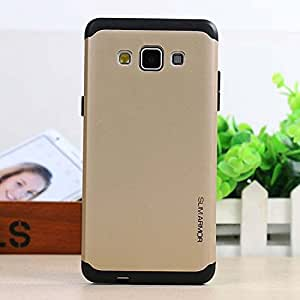 Exoic81 Tough SlimArmor Back Case For Samsung Galaxy J7 - Golden